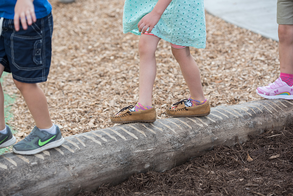 Downtown Montessori Milwaukee Natural Play Garden