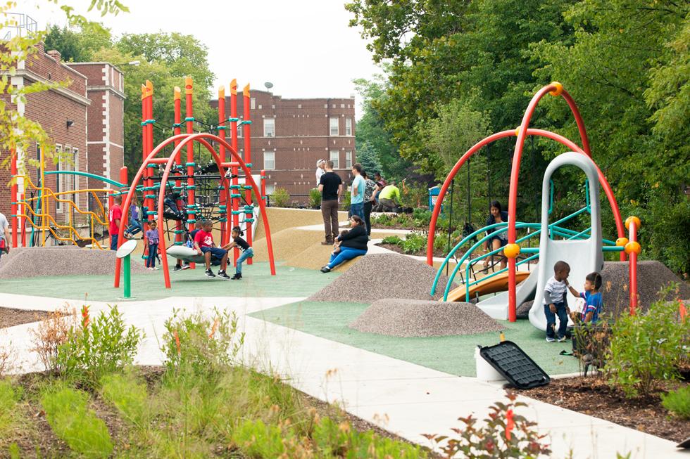 Outdoor Playground Landscape