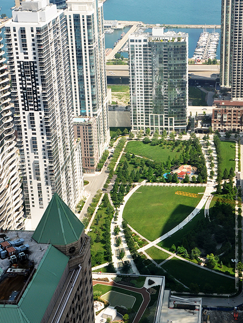 The Park At Lakeshore East Award Winning Chicago Park Design