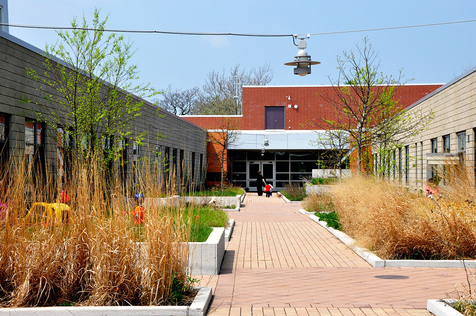 Chicago School Design Langston Hughes Elementary School