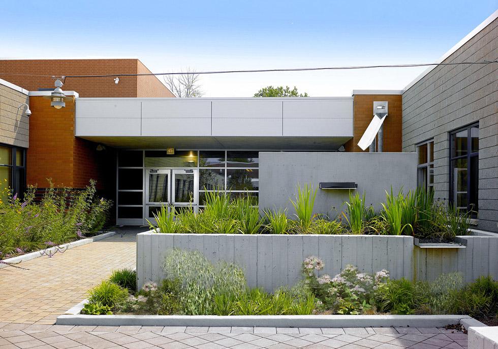 Chicago School Design Langston Hughes Elementary School