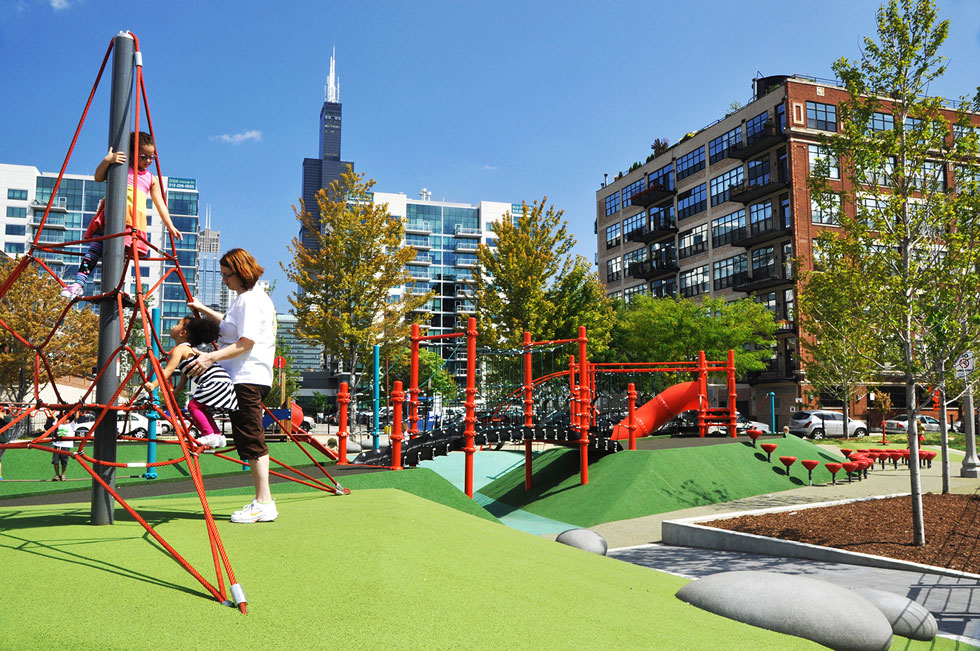 Mary Bartelme Park | Urban Park Design in Chicago