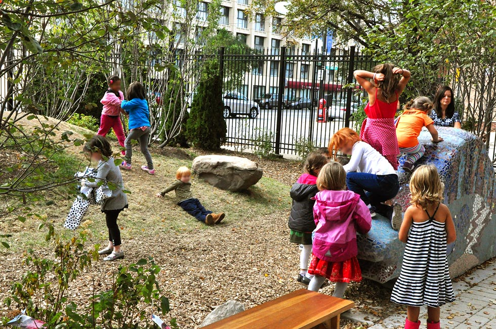 Montessori School Natural Playground Design