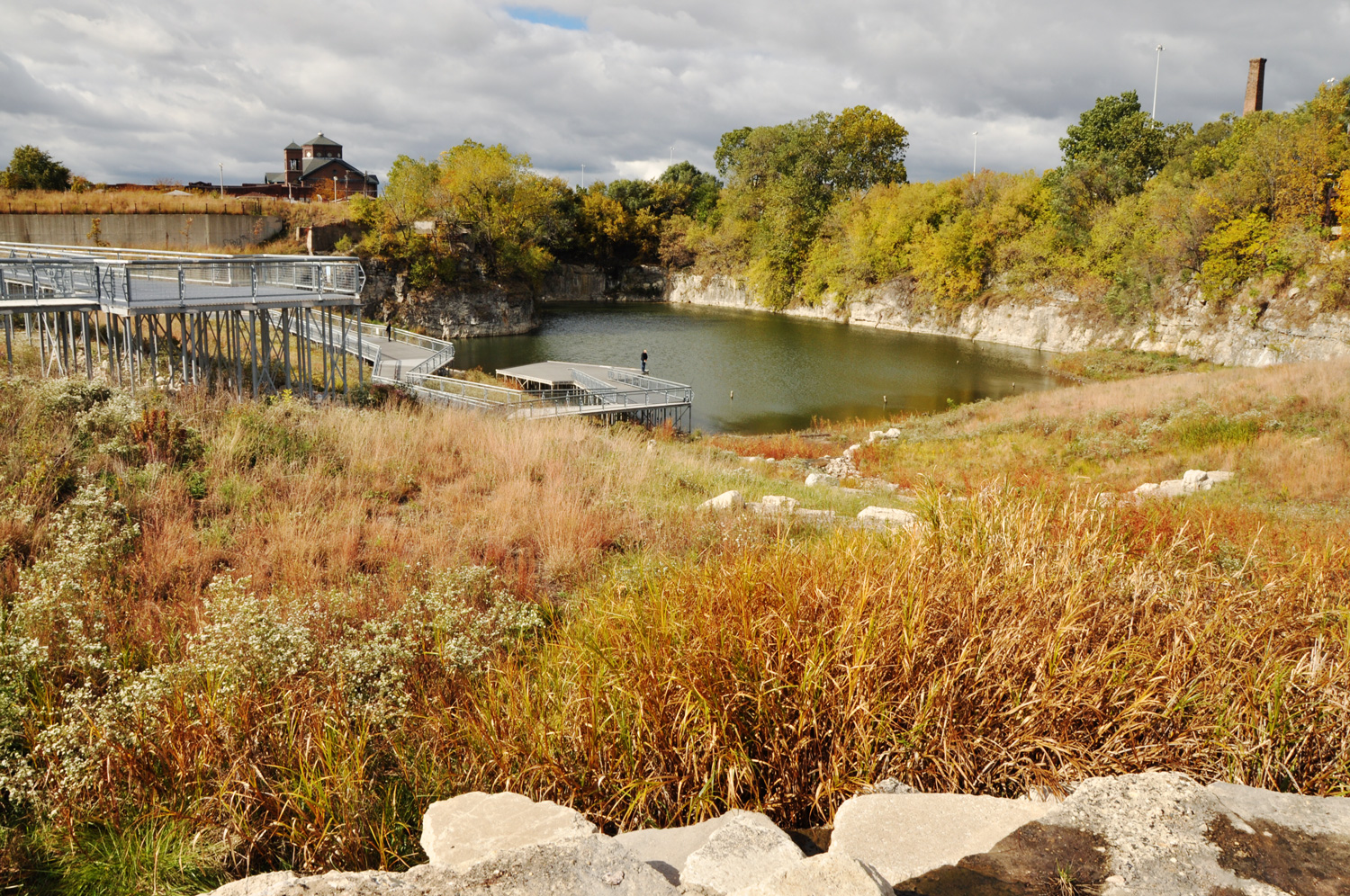 Henry Palmisano (Stearns Quarry) Park | Chicago, IL